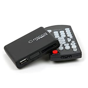 Micca Speck 1080p Full-HD Ultra Portable Digital Media Player For USB Drives and SD/SDHC Cards