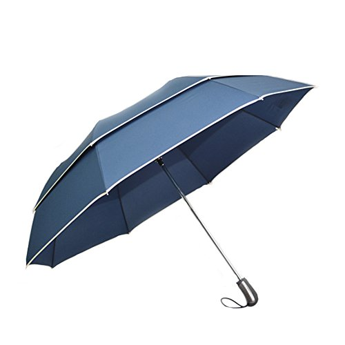 Lifeunion oversize double windproof rain wind resistant for Wind resistant material