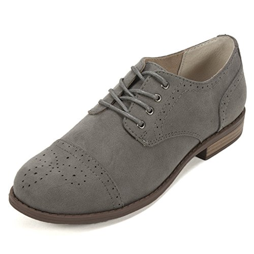 White Mountain Women's Saint Oxford, Grey, 6 M US