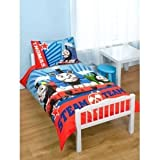 Childrens/Kids Thomas The Tank Engine Quilt/Duvet Cover Junior Bed Set