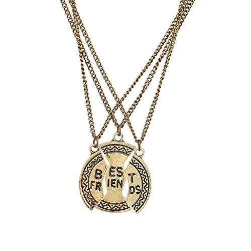 Lux accessori Best Friends Bff Boho Disco Collana Set (3pc)
