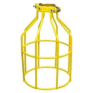 plt mc 200y metal lamp guard yellow. Black Bedroom Furniture Sets. Home Design Ideas