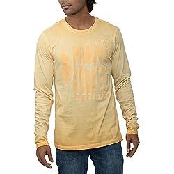 Inego Men's Casual Round Neck T- Shirt (Day Tona Blue )
