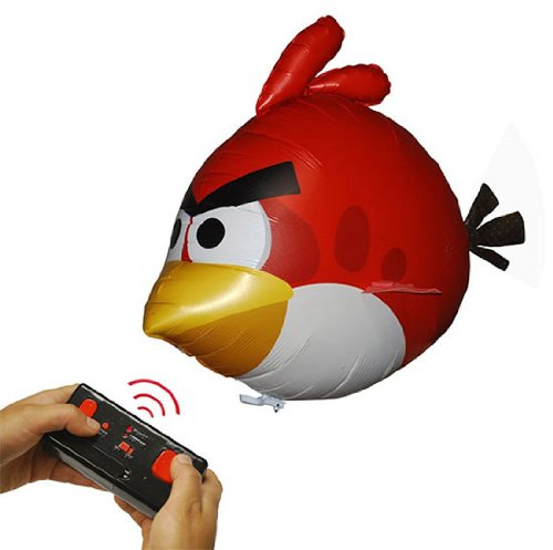 Angry Birds Air Swimmers Turbo - RED Flying Remote Control Balloon Toy - 1