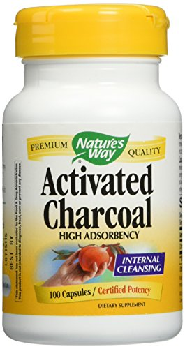 Nature's Way Activated Charcoal Supplement, 200 Count (Nature Way Activated Charcoal compare prices)