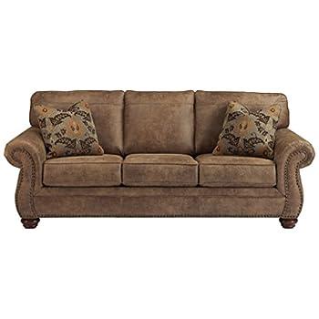 Ashley Furniture Signature Design - Larkinhurst Sofa - Contemporary Style Couch - Earth