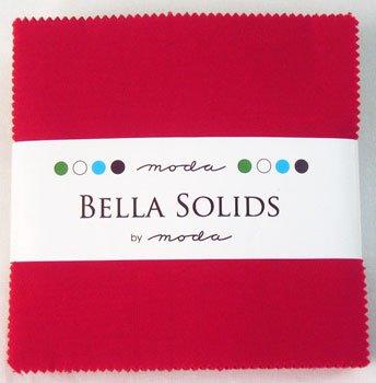 Moda BELLA SOLIDS RED 5
