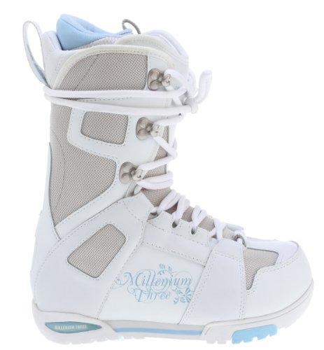 M3 White Snowboard Boots White Womens Sz 7