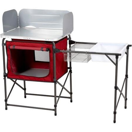 Ozark-Trail-Durable-Steel-Frame-with-Easy-to-clean-Tabletop-Deluxe-Outdoor-Camp-Kitchen-and-Sink-Table