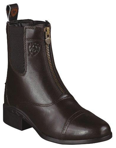 Ariat Women's Heritage Zipper Paddock Riding Boot Round Toe Chocolate 8.5 M US