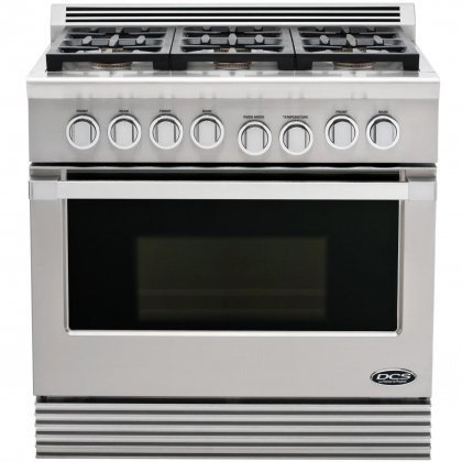 Dcs Rgu-366-L Range 36, 6 Burner, Lp Gas