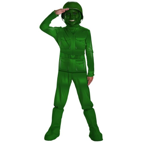Green Army Man Costume - Medium