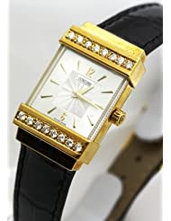 Inexpensive!! Concord Crystal 18k Gold and Diamond Bezel Women's Watch Deals