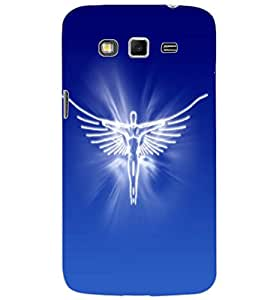 SAMSUNG GALAXY GRAND 2 ANGEL Back Cover by PRINTSWAG