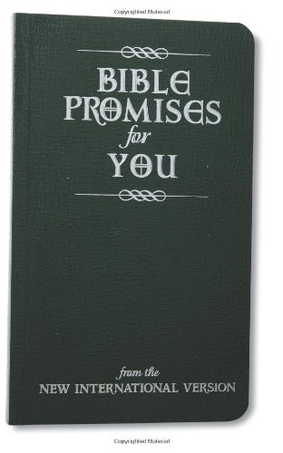 Bible Promises for You: from the New International Version (Personal Promise Bible compare prices)