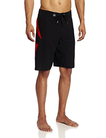 Volcom Men's Annihilator Nano Boardshort, Red, 28