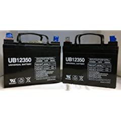 12V 35AH Wheelchair Scooter Battery Replaces 31a 32a 33a - 2 Pack by UPG