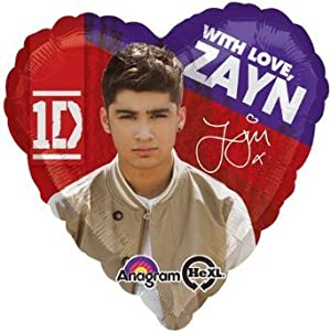 1 BALLOON party ZAYN one DIRECTION favors from anagram
