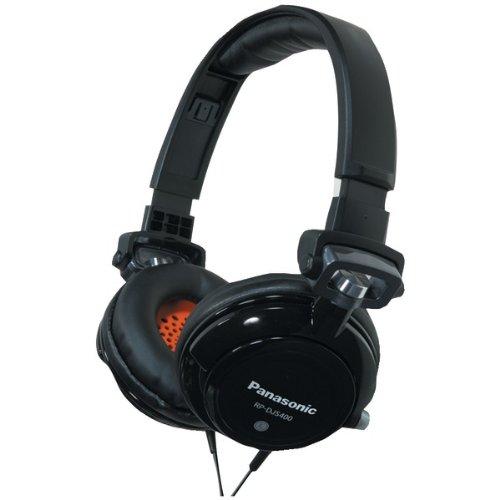 Panasonic Rp-Djs400-K Djs400 Dj Street-Style Headphones (Black) (Rp-Djs400-K)