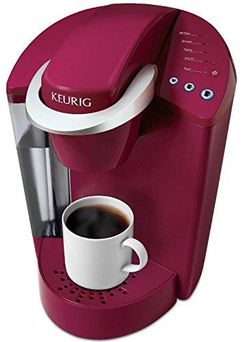 Keurig Elite K40 Single Serve Cup Coffeemaker Programmable Brewing System, Rhubarb Red ...