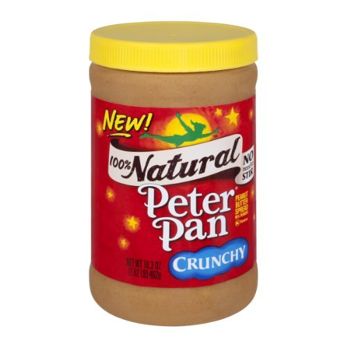 Peter Pan 100% Natural Crunchy Peanut Butter (Peanut Butter Peter Pan Honey compare prices)