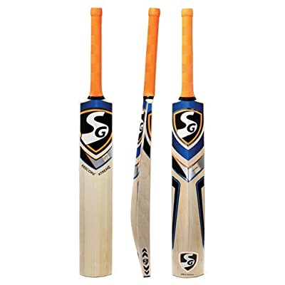 SG Hi-Score Xtreme English Willow Cricket Bat, Short Handle