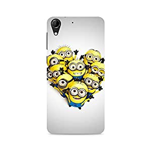 Ebby Hola Minions Premium Printed Case For HTC Desire 728