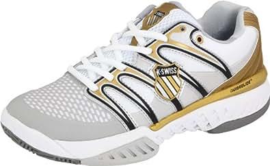 K-Swiss Bigshot-W - Zapatillas de tenis para mujer, color blanco, talla 37