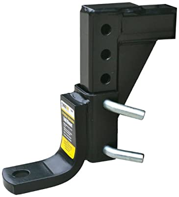 Maxxtow Towing Products 70067 8-Position Adjustable Ball Mount - 5000 lbs. GTW Capacity