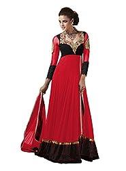 VIHA Pink Women's Velvet Salwar Suit