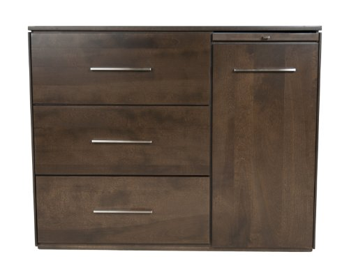 Offspring York 3 Drawer Change Chest, Cocoa