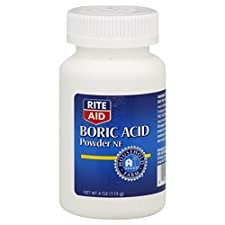 Rite Aid Boric Acid, Powder NF, 4 oz (113 g)