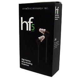 【国内正規品】 Etymotic Research  インイヤーイヤホン HF5-BLACK