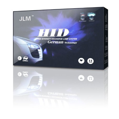 JLM Premium HID Conversion Kit 9006 8000K (HB4, Iceberg Blue)