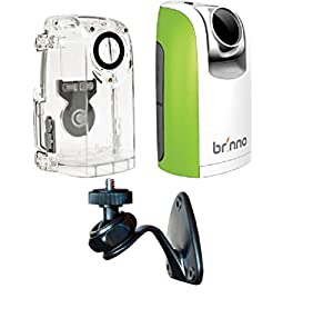 Brinno TLC200 Time Lapse and Stop Motion HD Video Camera - Green (BCC50 2016 Bundle)