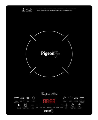 Pigeon Rapido Slim 2100-Watt Induction Cooktop