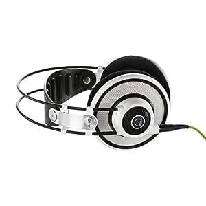 AKG Q701 Quincy Jones Signature Line Reference-Class Premium Headphones - White