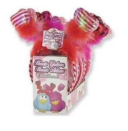 Valentine Bobble Heart Headband (1 Piece) - 1