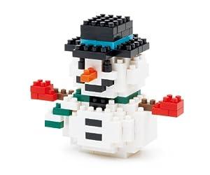 nanoblock 雪だるま2012