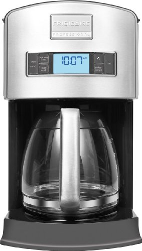 Frigidaire Professional Stainless Programmable 12-Cup Drip Coffee Maker (023169133228)