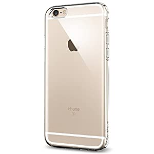 iPhone 6s Case, Spigen® iphone 6 case cover [Liquid Armor] [Crystal Clear] Premium Clear Flexible Soft TPU / SOFT-FLEX Extra Grip Case iPhone 6/6s Cover for iPhone 6 (2014) / 6s (2015) - Crystal Clear (SGP11753)