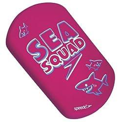 SPEEDO SEA SQUAD MINI KICK BOARD- PINK- AGE 2-12YRS