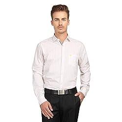 British Line White Color Slim Fit Shirt