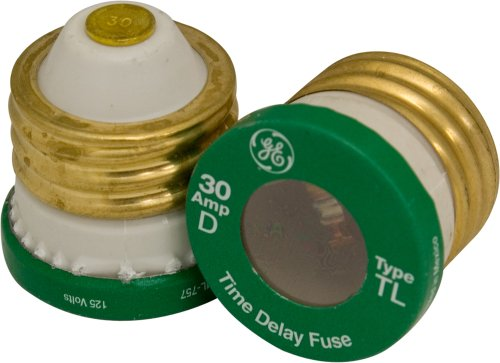 Ge Type T/Tl Time Delay Fuse, 30-Amp, 2-Pack 18250 front-535283