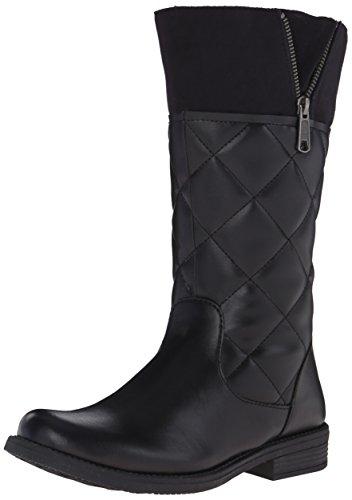 umi Quiltee C III Waterproof Boot (Big Kid), Black, 37 EU(5 M US Big Kid)