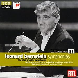 Bernstein : Les Plus grandes Symphonies (Coffret 3 CD)