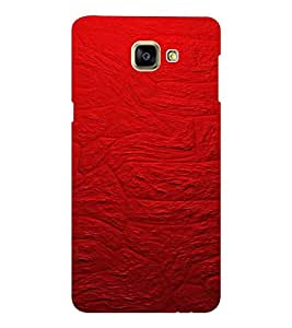 EPICCASE Red Stone wall Mobile Back Case Cover For Samsung Galaxy A9 (Designer Case)