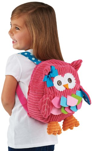 Mud Pie Back Pack, Owl front-798179