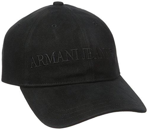 Armani Jeans Uomo Berretto da baseball Nero Unica Taglia