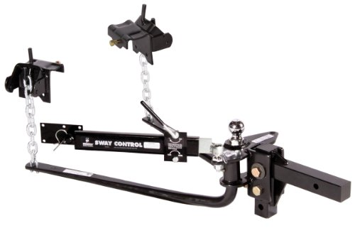 Husky 31996 800LB Weight Distribution Hitch with Sway Control and 2